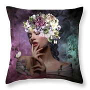 Butterfly Beauty 02 Throw Pillow