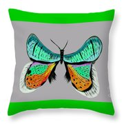 Butterfly Commission Throw Pillow