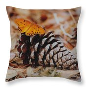 Butterfly Cone Throw Pillow