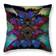 Butterfly Effect 2  Throw Pillow