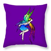 Butterfly Fairy Wings Throw Pillow