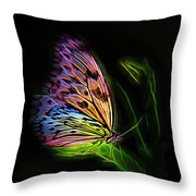 Butterfly Fantasy 2a Throw Pillow