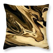 Butterfly Girl 3 Throw Pillow