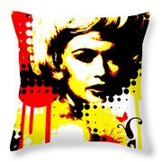 Butterfly Headcase Throw Pillow