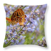 Butterfly Heaven Throw Pillow