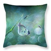 Butterfly Imagination Throw Pillow