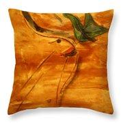 Butterfly Kiss - Tile Throw Pillow