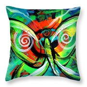 Butterfly Love Throw Pillow