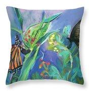 Butterfly Mammas Throw Pillow