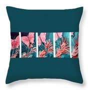 Butterfly Metamorphis Throw Pillow