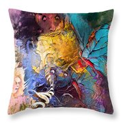 Butterfly Mind Throw Pillow