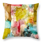 Butterfly Morning Throw Pillow