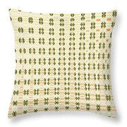 Butterfly Multiplication Abstract, Throw Pillow