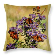 Butterfly Party Throw Pillow