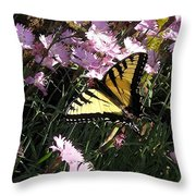 Butterfly Surprise Watercolor Throw Pillow