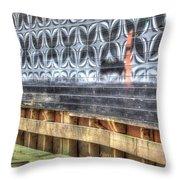 Butterfly Walled Graffiti Throw Pillow