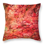 Butterfly Wing Nr1 Throw Pillow