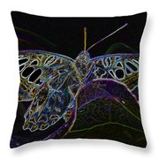 Butterfly Work Rws Number 6 Throw Pillow