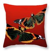 Butterfly1 Throw Pillow
