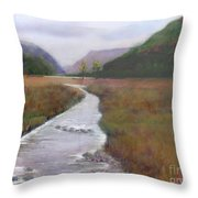 Buttermere In The Lake District Throw Pillow