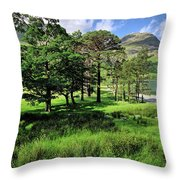 Buttermere Pines Throw Pillow