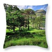 Buttermere Pines Throw Pillow