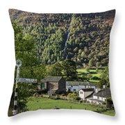 Buttermere Village Throw Pillow