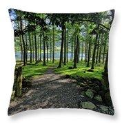 Buttermere Woods Throw Pillow