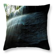 Buttermilk Falls Throw Pillow