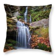 Buttermilk Falls Throw Pillow