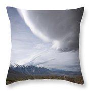 Buttermilks Sky Throw Pillow