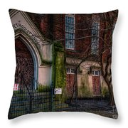 Buy Felicity Methodist - Nola Throw Pillow