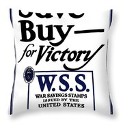 Buy For Victory Throw Pillow by War Is Hell Store
