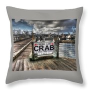 Buy From The Fisherman Throw Pillow