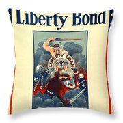 Buy Liberty Bonds Throw Pillow