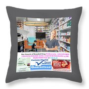 Buy Wellcovorin Throw Pillow