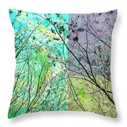 Buzz Around These Throw Pillow