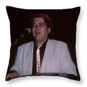 Buzz Barkley Throw Pillow