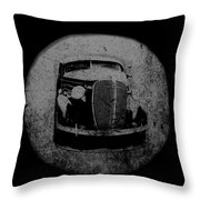 Buzz Art Round By Lesa Fine Throw Pillow
