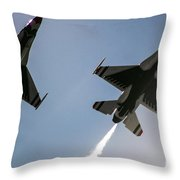 Buzz The Crowd Throw Pillow