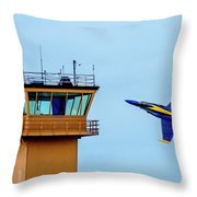 Buzz The Tower Throw Pillow