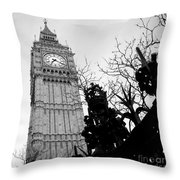 Bw Big Ben London 2 Throw Pillow