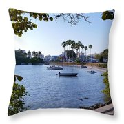 By Dingy Throw Pillow