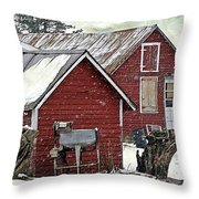 By-gones Throw Pillow