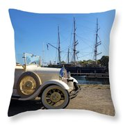By Land And By Sea Throw Pillow