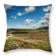 By Myself Throw Pillow