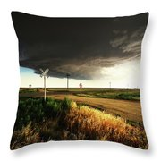 By Road, By Rail, Or By God Throw Pillow