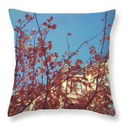 By The Autumn Tree 2 Throw Pillow