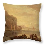 By The Coast Throw Pillow