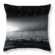 By The End Of The Day Throw Pillow